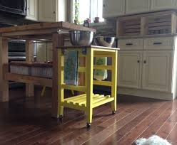 Diy Kitchen Islands With Seating Kitchen Appealing Diy Kitchen Island On Wheels Cart Plans