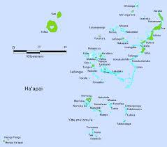 tonga map haʻapai