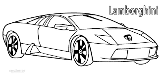 spectacular idea lamborghini coloring pages free