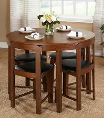 dining table and chairs for small spaces glamorous ideas compact