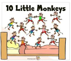 10 Monkeys Jumping On The Bed Real Monkeys Jumping On The Bed