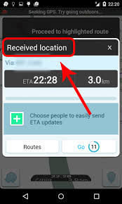 waze android java set title when navigation intent to waze in android stack