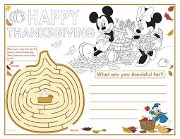 thanksgiving coloring pages free disney 14 images
