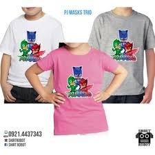 pj masks shirt birthday family shirts shopee philippines