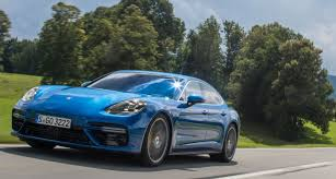 porsche panamera blue the porsche panamera will make you look forward to your commute
