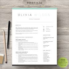 Word Resume & Cover Letter Template Resume Templates Creative
