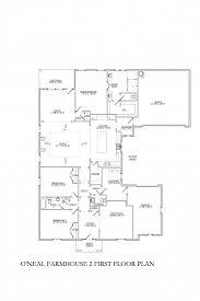 the o u0027neal farmhouse 2 homesite 2040 floor plan signature homes