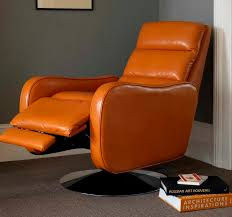 Orange Ikea Sofa by Furniture Ikea Leather Recliner With Orange Color Design Ikea