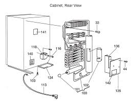 laurelhurst distributors parts breakdown dometic refrigerators