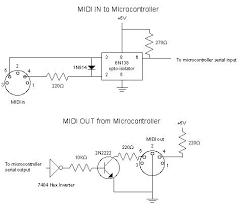 midi code circuits u0026 construction