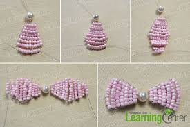 how to make your own hair bows how to make your own stitch pink beaded hair bows tutorial