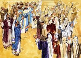 biblical illustration celebration in the temple stl illustrator