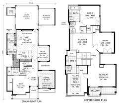 Two Storey Residential Floor Plan 100 Split Entry Home Plans 1000 Ideas About Two Storey