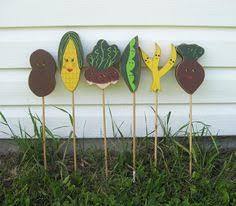 Vegetable Garden Labels by Garden Vegetable Wood Stakes Garden Markers Seedlings Veggie
