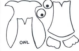 thrifty lodge make your own owl card