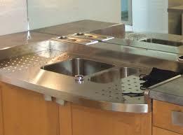 plan de travail inox cuisine création de plan de travail de cuisine à meythet 74 inox bois