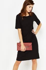 black shift dress black sleeve shift dress just 5