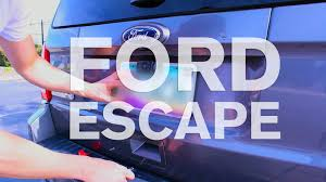 Ford Escape Electric - wireless back up camera installation ford escape youtube