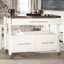 Kitchen Island With Stainless Steel Top Mobile Kitchen Island With Trash Can Portable Kitchen Island
