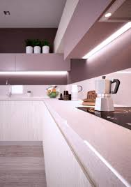Kitchen Lighting Under Cabinet Led Futuristic Kitchen Light Fixtures Design With Floral Led Lighting