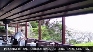 Sunscreen Patios And Pergolas by Patio Retractable Roofs By Viva Sunscreens Youtube