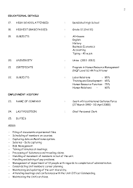 Sample Artist Resume by Fx Artist Resume Format Contegri Com