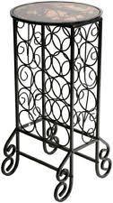 metal wine rack floor ebay