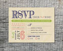 appealing wedding invitations with postcard response cards 37