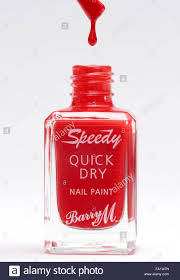 barry m speedy quick dry nail paint stock photo royalty free