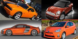 it u0027s halloween are you shopping for an orange car truecar blog