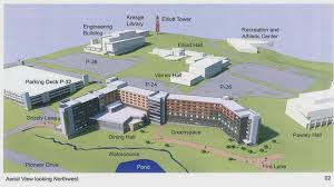 Oakland University Campus Map Out U0026 About