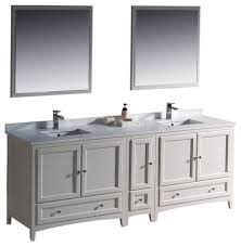 Bathroom Vanity With Side Cabinet Fresca Oxford 84