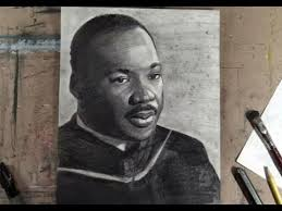 how to draw dr martin luther king jr step by step portrait youtube