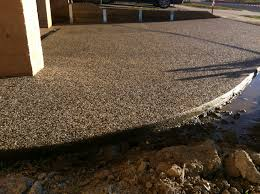 Exposed Aggregate Patio Pictures by Exposed Aggregate Driveway Design Buchheit Construction