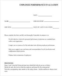 sample evaluation form 10 examples in pdf word