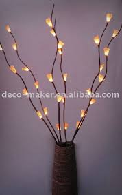 decorative branches with lights modern interior tree branch with lights