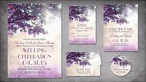 purple wedding invitations read more vintage purple tree wedding invitations wedding