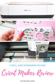 cricut maker machine review joy u0027s life