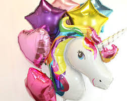 balloon delivery unicorn rainbow balloon bouquet buy helium balloons delivery