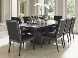 Double Pedestal Dining Table Carrera Modena Double Pedestal Dining Table Lexington Home Brands