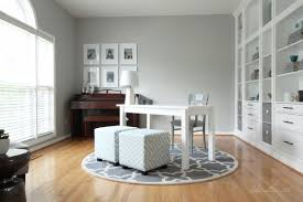 Stonington Gray Living Room by Finally My Home Office Makeover Reveal U2013 Studio 36 Interiors