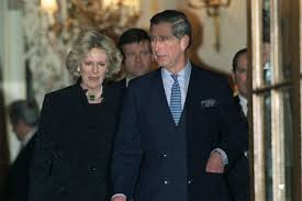 charles and camilla pictured together for the first time was a