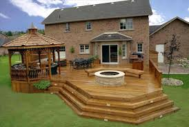 Backyard Deck Ideas The Images Collection Of Modern Backyard Deck Ideas Ground Level