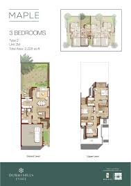 dubai mall floor plan maple 1 u0026 2 at dubai hills estate arab vision