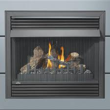 Vent Free Lp Gas Fireplace by Napoleon Grandville 36 Inch Built In Vent Free Propane Gas