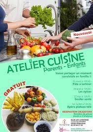 affiche atelier cuisine atelier cuisine parent enfant best cours de cuisine lyon le samedi