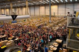 amazon black friday record more than 1 000 workers evacuated from one of amazon u0027s warehouses