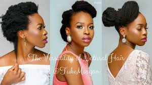 the versatility of natural hair tuke u0027s quest