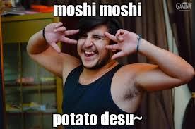 Moshi Moshi Meme - moshi moshi potato desu generador de rage comics online