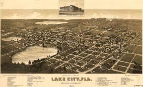Longwood Florida Map by Panoramic View Of Lake City Florida 1885